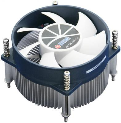 Кулер для процессора Titan TTC-NA32TZ/R Socket 1150/1155/1156 кулер titan dc 156v925x r intel lga 1150 1155 1156 95x95x45 3 pin 2200 rpm