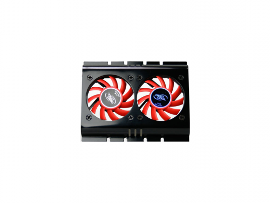 Кулер для HDD Deepcool IceDisk2 3pin 28dB Al 127g Retail DP-HDPL-ID2