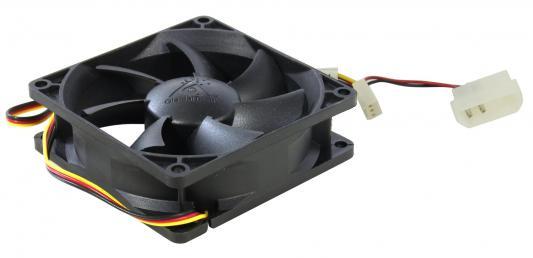 Вентилятор Glacialtech GT-8025-BDLA1 Ballbearing 80x80x25 3pin+4pin molex 21dB 90g OEM mountain 90g