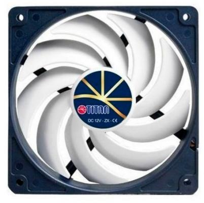 Вентилятор Titan TFD-12025H12ZP/KE(RB) 120x120x25mm 4pin 5-37dB 206g extreme-silent Retail цена и фото