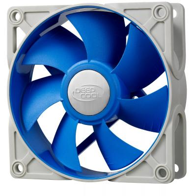 Вентилятор Deepcool UF92 90x90x25 4pin 18-25dB 900-1800rpm 130g anti-vibration вентилятор deepcool gf140 140x140x26 4pin 26 7db 1200rpm 179g черный