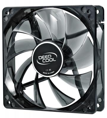 Вентилятор Deepcool WIND BLADE 120 120x120x25 3pin 27dB 1300rpm 119g голубой LED DP-FLED-WB120 вентилятор deepcool wind blade 120 red 120x120x25 3pin 27db 1300rpm 119g красный led