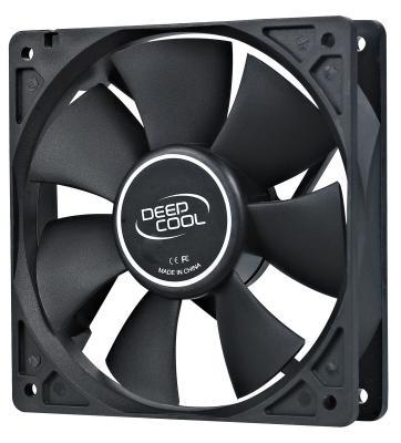 Вентилятор Deepcool XFAN 120 120x120x25 3pin 26dB 1300rpm 180g вентилятор deepcool xfan 70 70мм bulk