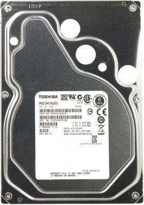 """Жесткий диск 3.5"""" 2Tb 7200rpm 64Mb cache Toshiba SATAIII MG03ACA200"""