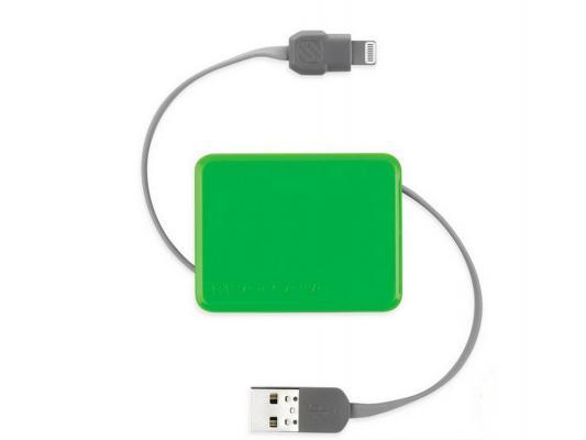 Переходник Scosche 026I2BOXGN USB to Lightning 90см зеленый  026I2BOXGN