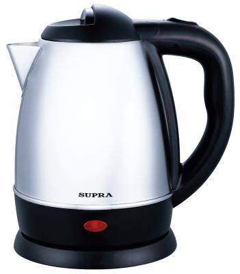 Чайник Supra KES-1231 1500 Вт серебристый 1.2 л металл термопот supra tps 3016 730 вт 4 2 л металл серебристый
