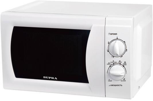 СВЧ Supra MWS-1808MW 18 л белый supra mws 1803mw