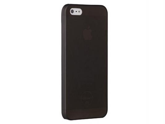 Чехол пластиковый Ozaki для iPhone 5/5S O!coat 0.3 JELLY Black. Черный