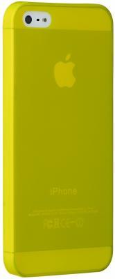 Ozaki Чехол (клип-кейс) Ozaki Ocoat 0.3 Jell для iPhone 5 iPhone 5S iPhone SE желтый OC533YL