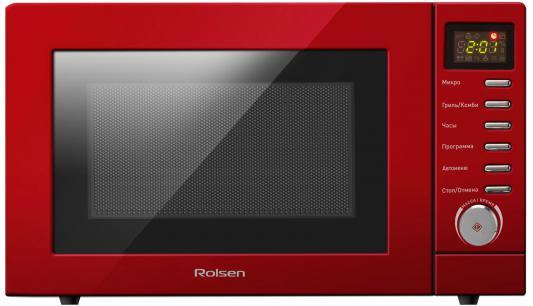 СВЧ Rolsen MG2080TH 800 Вт красный