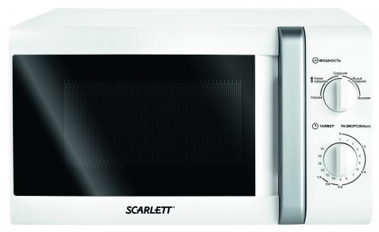 Микроволновая печь Scarlett SC-2007 20л 700Вт белый