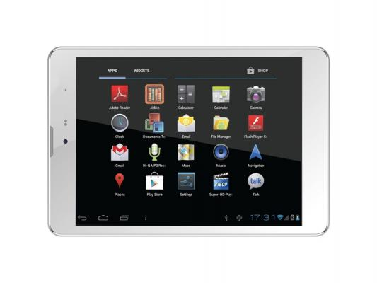 "Планшет Supra M847G 7.85"" 16Gb белый Wi-Fi 3G Bluetooth Android M847G"