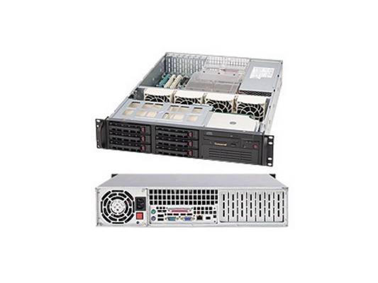 Серверный корпус Supermicro CSE-823TQ-653LPB 2U Black 6xHotSwap SAS/SATA, E-ATX 653W 2U RM