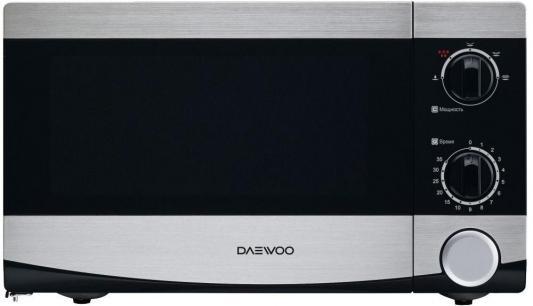 СВЧ DAEWOO KOR-6L45 700 Вт серебристый