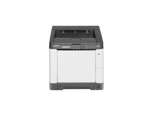 Принтер Лазерный цветной Kyocera Ecosys P6021cdn (1102PS3NL0) A4 Duplex Net 21 стр 512Мб USB USB-хост слот для SD, AirPrint