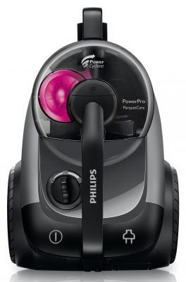 Пылесос Philips FC8766/01 без мешка сухая уборка 2100/370Вт черный пылесос lg v k76w02hy без мешка сухая уборка 2000вт серебристо серый