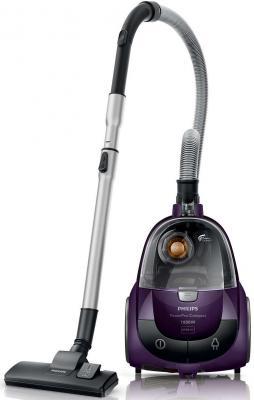 цена на Пылесос Philips FC8472/01 без мешка сухая уборка 1800/350Вт фиолетовый