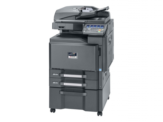 Копировальный аппарат лазерный Kyocera TASKalfa 3501i (1102NB3NL0) A3 Duplex Net 35стр A4 копир/принтер/сканер НyPAS (Без крышки)