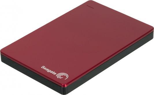 """Внешний жесткий диск 2.5"""" USB3.0 2 Tb Seagate Backup Plus STDR2000203 красный"""