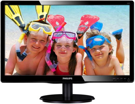 "Монитор 22"" Philips 226V4LAB/00/01 монитор philips 243v7qdab 00 01"