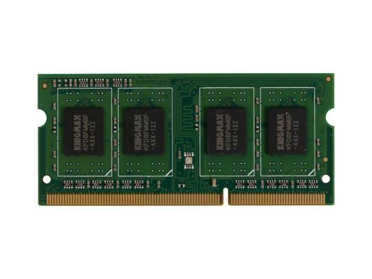 Оперативная память для ноутбуков SO-DDR3 4Gb PC12800 1600MHz Kingmax Retail оперативная память dimm ddr3 kingmax 8gb 1600mhz