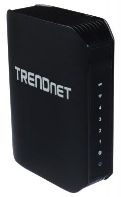 Маршрутизатор TRENDnet TEW-751DR 802.11abgn 300Mbps 2.4 ГГц 5 ГГц 4xLAN черный