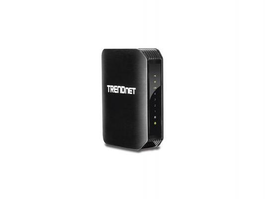 Маршрутизатор TrendNet (TEW-811DRU) 4-порта 10/100/1000Mbit/s Двухдиапазонный Wi-Fi маршрутизатор AC1200
