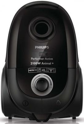 Пылесос Philips FC8657/01 с мешком сухая уборка 2100/425Вт черный