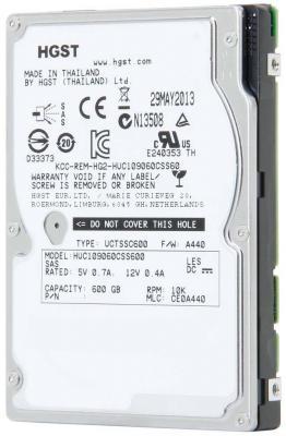 "Жесткий диск Hitachi SAS 600Gb HUC109060CSS600 (10000rpm) 64Mb 2.5"""