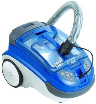 Пылесос Thomas Twin TT Aquafilter (788535) без мешка сухая и влажная уборка 1600/240Вт голубой пылесос lg v k76w02hy без мешка сухая уборка 2000вт серебристо серый
