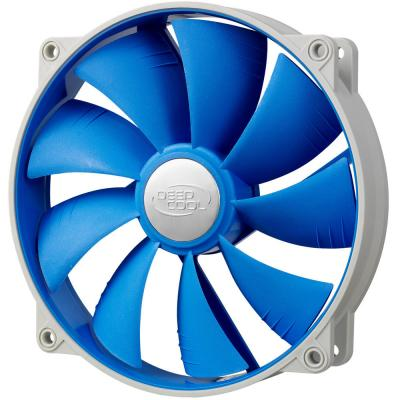 Вентилятор корпусной Deepcool UF 140 140x140x25 4pin 18-27dB 700-1200rpm 167g anti-vibration
