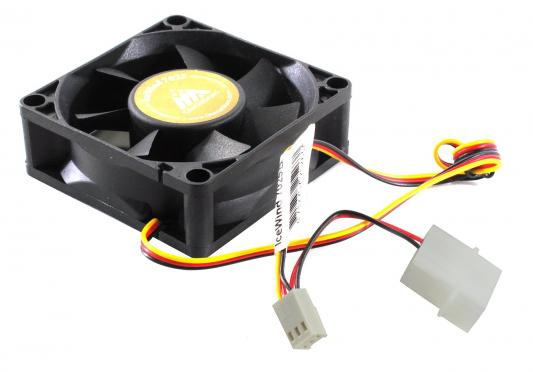 Вентилятор для корпуса Glacialtech IceWind 7025 70x70x25 3pin+4pin (molex) 31dB 80g OEM