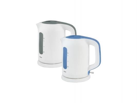 Чайник MYSTERY MEK-1620 2000 Вт 1.7 л пластик белый серый
