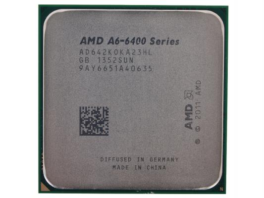 Процессор AMD A6 X2 6420K AD642KOKA23HL SocketFM2 OEM
