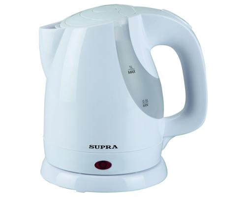 Чайник Supra KES-1021 1200 Вт белый 1 л пластик все цены