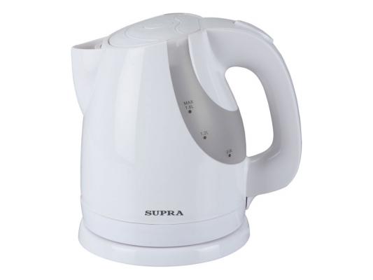 Чайник Supra KES-1725 1850Вт 1.7л пластик белый
