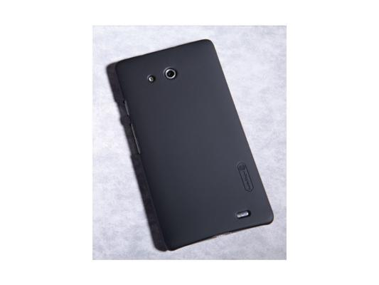 Накладка Nillkin Super Frosted Shield для Huawei Mate черный T-N-HMate-002