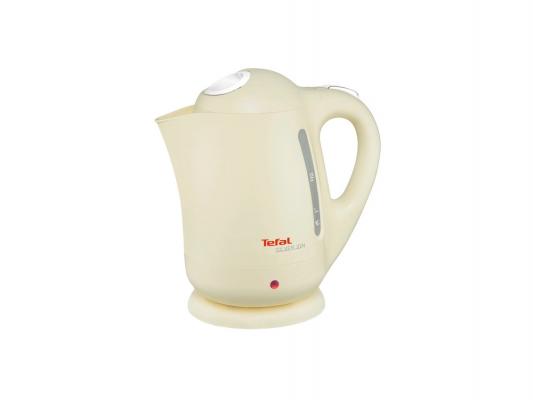 Чайник Tefal BF 925232 2400Вт 1.7л пластик бежевый чайник tefal bf 9251 32 2400вт 1 7л пластик белый
