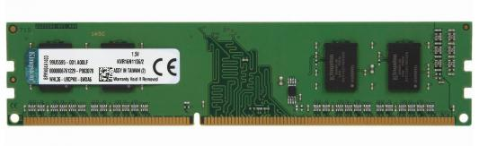 Память DDR3 2Gb (pc-12800) 1600MHz Kingston <Retail> (KVR16N11S6/2) оперативная память ddr3 2gb pc12800 1600mhz crucial ct25664bd160bj