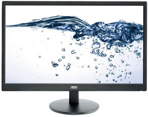 Монитор 23.6 AOC E2470Swda монитор aoc 21 5 g2260vwq6 g2260vwq6