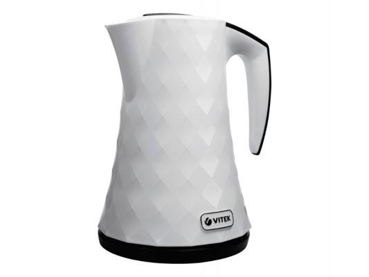 Чайник Vitek VT-1183-01-W 2400 Вт 1.5 л пластик белый