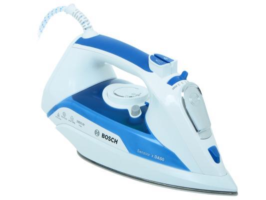 Утюг Bosch TDА 5028010 2800Вт белый синий утюг bosch tda 5028010