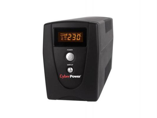 ИБП CyberPower 1000VA VALUE1000ELCD черный