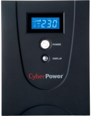 ИБП CyberPower 1500VA VALUE1500ELCD черный  VALUE1500ELCD