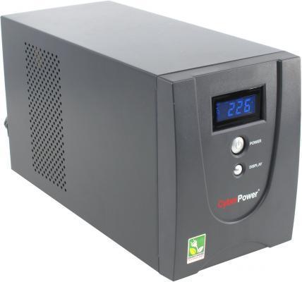 ИБП CyberPower 1200VA VALUE1200ELCD черный