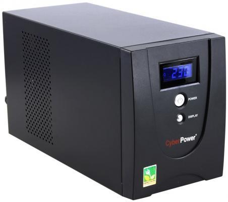 ИБП CyberPower 2200VA VALUE2200EILCD 2200VA Черный ибп cyberpower 650va 360w ut650ei черный