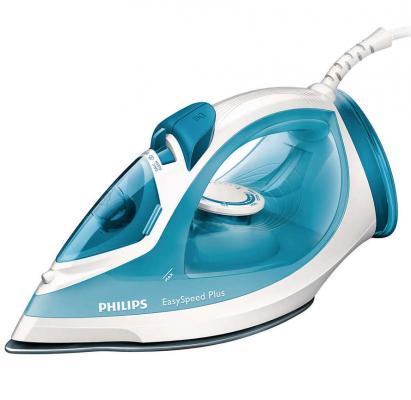 Утюг Philips GC 2040/70 2100Вт бело-голубой фен philips bhd174 00 2100вт черный голубой