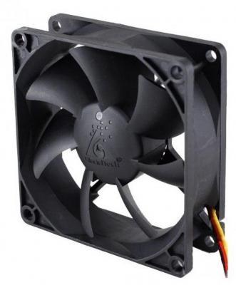 Вентилятор Glacialtech GT-8025-EDLB1 Sleeve 80x80x25 3pin+4pin molex 19dB 90g OEM CF8025SEDOAB1031 вентилятор id cooling no 4010 sd 3pin molex 40 40 10 мм 4500об мин 12vdc