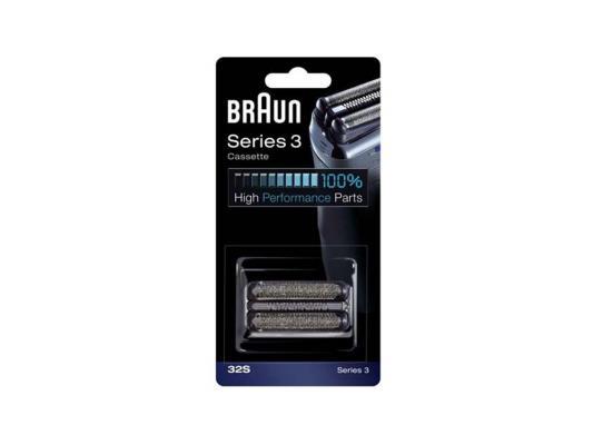 Сетка + режущий блок 32S Braun аксессуар braun сетка и режущий блок 52s