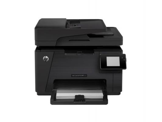 МФУ HP Color LaserJet Pro M177fw CZ165A A4 16/4ppm 600x600dpi 128Мб WiFi Ethernet USB